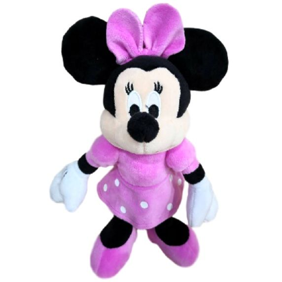 peluche minnie mouse 30 cms.